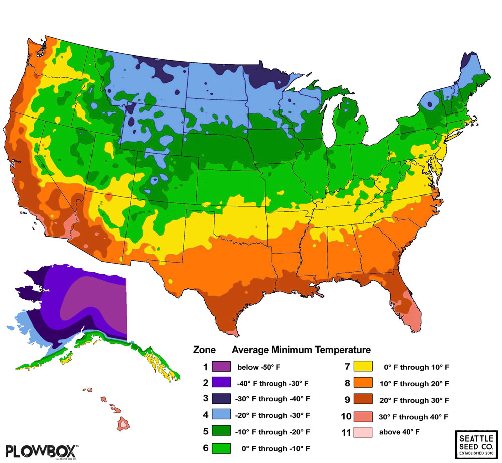 Popular 197 list temperate zone map for Gardening zones colorado